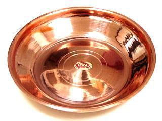 Copper Puja Plate