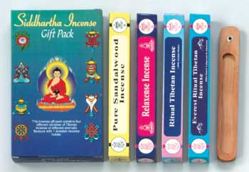 Siddhartha Tibetan Incense Gift Set