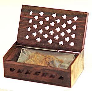 Rosewood Amber Resin Gift Box