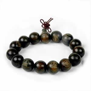 Wooden Serenity Buddha Bracelet