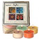 Ayurvedic Herbal Candles: Assorted Tealights