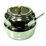Stainless Steel Glass Ghee Pot