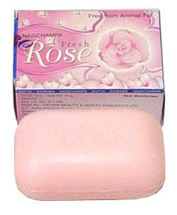 Nag Champa Fresh Rose Soap