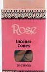 Sri Aurobindo Ashram Incense Cones – Rose