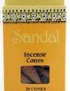 Sri Aurobindo Ashram Incense Cones – Sandalwood