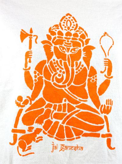 Jai Ganesha T-Shirt – Orange