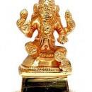 Ganesha Statue w/Gold Finish