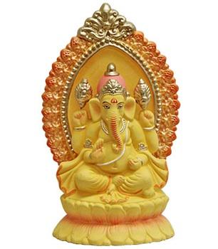 Ganesha Clay Statue (Murti)