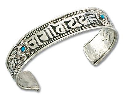 Om Mani Padme Hum Bangle Bracelet